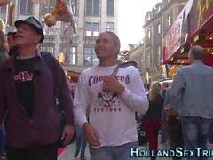 Настоящий голландский проси трахал
