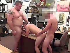 School hunks nude sex Guy completes up with ass fucking hook
