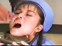 Amatoriale ragazza asiatica sbattuto e sborrata facciale