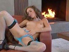 Malena Morgan hot solo
