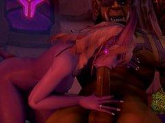 Son Gece Warcraft SFM