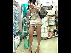 Bella ragazza chinese pubbliche