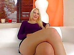 Большие задницы Блондинка Тедди Holland
