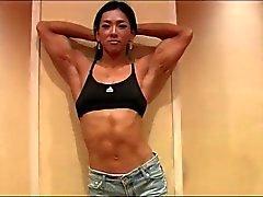Splendide modèle Fitness coréens