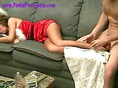 128 sleeping young ms santa