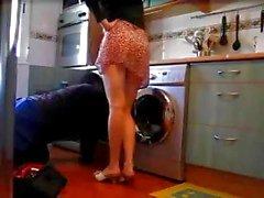 einsamer housewife Blitze Installateur