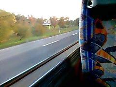 po 'di divertimento su un autobus a colpo sborra