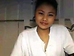 Симпатичные азиатка девочка Из Таиланда