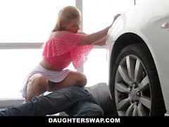 DaughterSwap - Fucking Our Dads To Get a Car
