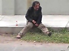 Str8 шпион поймали бездомная дрочу
