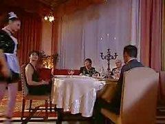 Maid används av en italiensk middag