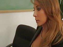 Madison Ivy is a busty brunette teacher
