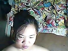 Philippines Cutie de taquine son corps épais