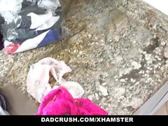 DadCrush - Stepdad Cheats On Wife With Stepdaughter Raven Re