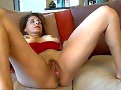 peitos grandes peludo masturbação