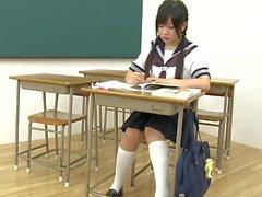 Japonés colegiala masturbación2
