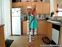 Slutty horny blonde MILF Puma Swede