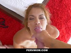 Milf is fucked by her sons hot horny best friend