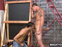 Big Dick sexo oral gay e Ejaculação