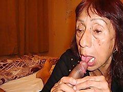 Роговой в Мексики бабушки а ее удивительная нагое тело