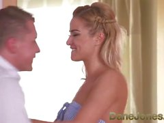 Dane Jones Hot blond ryska ansikte 69 till hög orgasm och sprutning