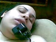 La masturbación del teléfono Arábico