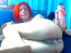 Jenna used her toys to masturbate her pussy and ass