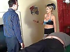 Horny подростка осел облизывание