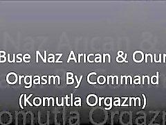 De Buse de Turquía en Naz Arican y a Onur - Orgasm mediante comandos