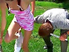 Betreuer Teaches Teenie Anale Chloes Der harte Weg