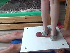 Las zapatillas de deporte cruel Cock Bolas Arrolla Trituración