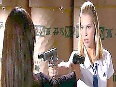 Jordana Brewster besarse pasión lésbico de Sara Fomentar