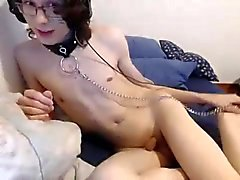 Drop Dead Gorgeous Femboy Cums