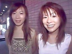 мило азиатских Duo попадает странный и глупый в клубе - от PACKMANS