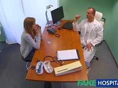 FakeHospital Doktoru seksi bir tight pussy Creampies