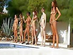Fransa danhavuz altı çıplak kızlar