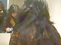 Amateur lesbisch Freund spiele mit eine Umschnalldildo