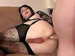 Sexy Brunette Crossdresser