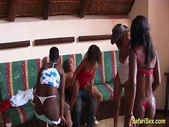 дикая африканская секс партия оргия