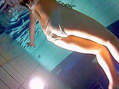 Unterwasser Hintern