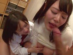 [NHDTA-802] 2 Schwestern kämpfen um einen Schwanz
