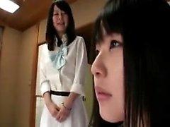 Japonés Lesbianas 2 No censurado