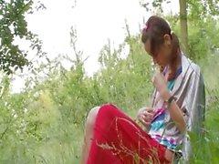 Bielorussi Natasha nuovo alla natura