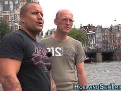 Dutch prozzie sucks dick
