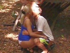 Bi-Sex - BareBack Boyfriends Share a Blond Babe