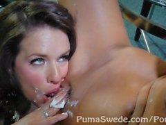 Süße Pussy Pie! Große Brüste Puma Swede & MILF Veronica Avluv!