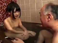 Unga amatör dusch knulla