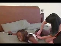 Paige Richards tickle tortures ebony girl Apple