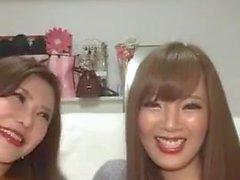 Hitomi Tanaka & Okita Anri in diretta su Instagram