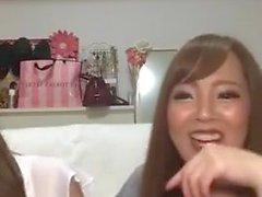 Hitomi Tanaka y Okita Anri en vivo en Instagram